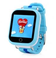 Smart baby watch Wonlex GW200S Голубые детские сенсорные часы