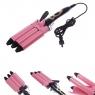 Тройная плойка для завивки волос JJ-928 JunJun Electrical