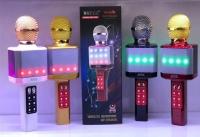 Беспроводной Микрофон Караоке Wster WS-1828 Hi-Fi Speaker USB, FM, Bluetooth