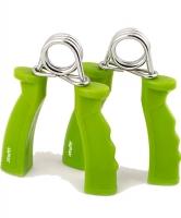 Эспандер кистевой STARFIT ES-301 пружинный, жесткая ручка, зеленый (2шт.) 1/24