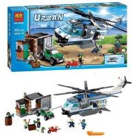 Конструктор 10423 URBAN 528 дет. Патруль на Вертолете