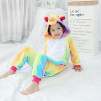 Пижама Кигуруми Радужный Единорог размер 105-120см
