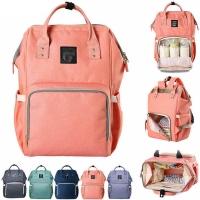 Рюкзак / сумка для мамы и малыша Diweilu с Usb проводом и креплением для коляски