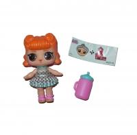 Кукла  LOL (Лол) - Сюрприз Шар в Ракушке 11 серия 2в1 № 3-1201 124/125