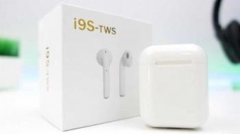 Беспроводные наушники i9S-TWS + чехол Android & iOS