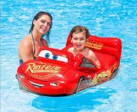 Детский матрас для плавания Машина Тачки 109х71см