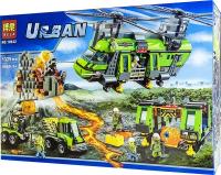 Конструктор 10642 Urban 1325 дет Тяжелый транспортный вертолет Вулкан