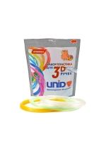 Набор пластика для 3D ручек PRO-F (по 10м. 3 цвета) светится в темноте