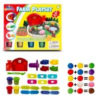 Набор для лепки Kids Dough Farm Playset