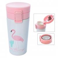 Термос-Кружка Розовый Фламинго I Am Flamingo 380мл