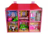 Кукольный домик My Lovely Villa с мебелью №6983 108.5*37*93см