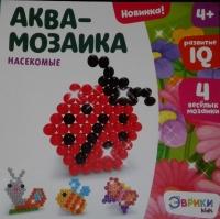 Аква-мозаика для детей насекомые