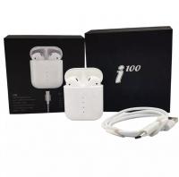 Беспроводные наушники i100-TWS 5.0 сенсорная кнопка