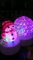 Новогодний Светильник с фигуркой Led Christmas Light RGB