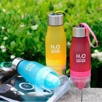 Бутылка с соковыжималкой H2O drink more water