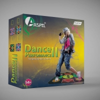 Танцевальный игровой коврик Aspel на 1-го (одного) 32 бита. Dance Perfomance II
