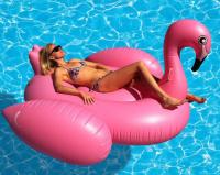 Надувной матрас Розовый Фламинго 150x105см Inflatable Flamingo Gold