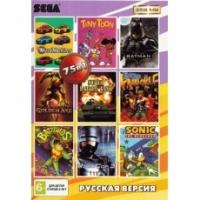 Картриджи Sega 75в1 BATTLE TOADS/BARE KNUCKLE