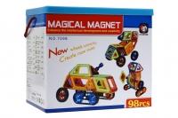 Магнитный конструктор 98 дет Mini Magical Magnet в боксе № 7098