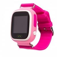 Smart baby watch Wonlex GW100 Розовые детские сенсорные часы