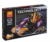 Конструктор 38003 Technology 345 дет. Гоночный карт