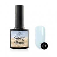 Гель-лак TNL Galaxy shine №07 - светло-бирюзовый с шиммером (10 мл.)