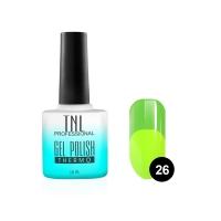Гель-лак TNL - Thermo №26 - цитрусовый/лайм (10 мл.)