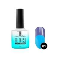 Гель-лак TNL - Thermo №01 - васильковый/голубой (10 мл.)