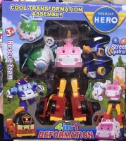 Робокар Трансформеры 4в1 Robocar Hero