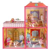 Кукольный домик My Lovely Villa с мебелью №6984 72*24*79см