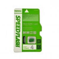 Карта памяти Remax Speed Flash 4GB Class 4