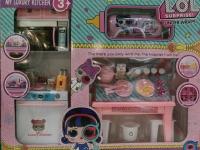 Кукла LOL (Лол) - Набор Кухня + Капсула и Аксессуары 40х33х10 см
