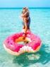 Надувной круг в виде Пончика 90см