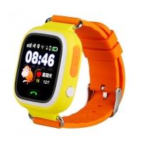 Smart baby watch Wonlex GW100 Желтые детские сенсорные часы