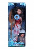 Кукла Моана 30см с веслом
