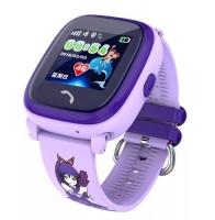 Smart watch baby DF25 ( W9 ) Водонепроницаемые Фиолетовые