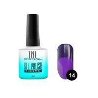 Гель-лак TNL - Тhermo  №14 - сапфировый/фиолетовый (10 мл.)