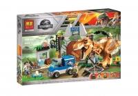 Конструктор 10920 Dinosaur World 168 дет Побег Ти-Рекса