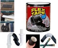 "Сверхсильная клейкая лента Flex Tape (Флекс Тайп) Black 4""x5'"
