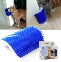 Настенная чесалка для кошек Cat Self Groomer with catnip