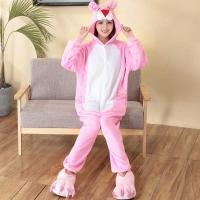 Пижама Кигуруми 3D Розовая Пантера размер М (160-170см)