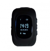 Часы детские SmartBaby q50 с GPS Черные