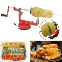 Машинка для резки  овощей и фруктов Spiral Potato Slicer