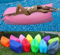 Надувной ламзак диван гамак ЛамзакФрут цветной, длина 2,4/2,2м, до 300 кг