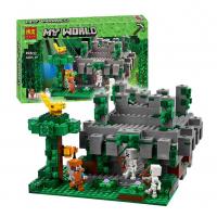 Конструктор 10623 Майнкрафт 604 дет. Храм в джунглях