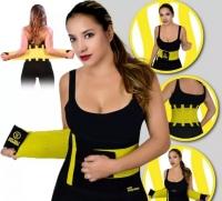 Пояс утягивающий Hot Shapers Belt для похудения р-р S