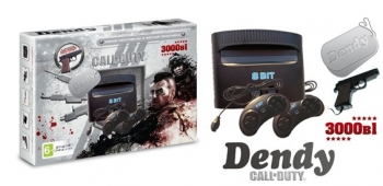 Dendy Call of Duty Ghost 99999-in-1+пистолет