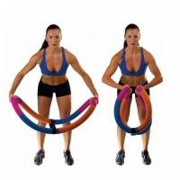 Обруч - тренажер «Сделай тело» 90 см, 2 кг (в пакете)