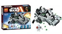 Конструктор 10576 Space Wars 463дет Снежный спидер Первого Ордена