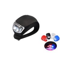 Яркие силиконовые фонари / мигалки 2 шт для велосипеда / самоката